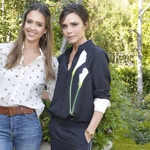 Victoria Beckham for Target callas lily blouse